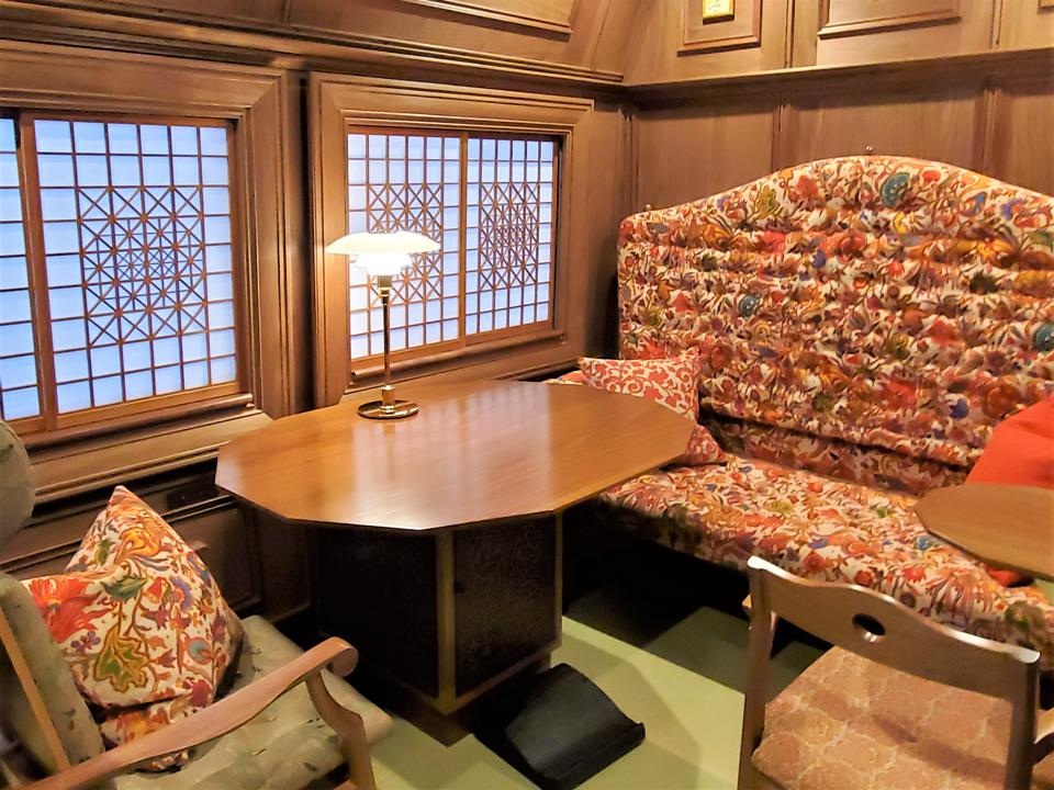 Train car in japan