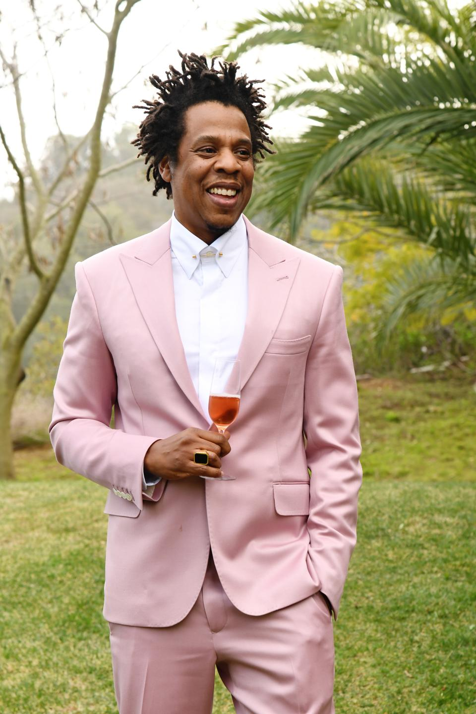Jay-Z attends 2020 Roc Nation THE BRUNCH in Los Angeles.