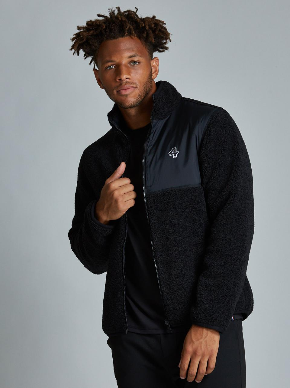 Find Fourlaps' Lead Reversible Sherpa Jacket and other high-end, sustainable pieces at Future Proper, the first online boutique for premium men's activewear brands.