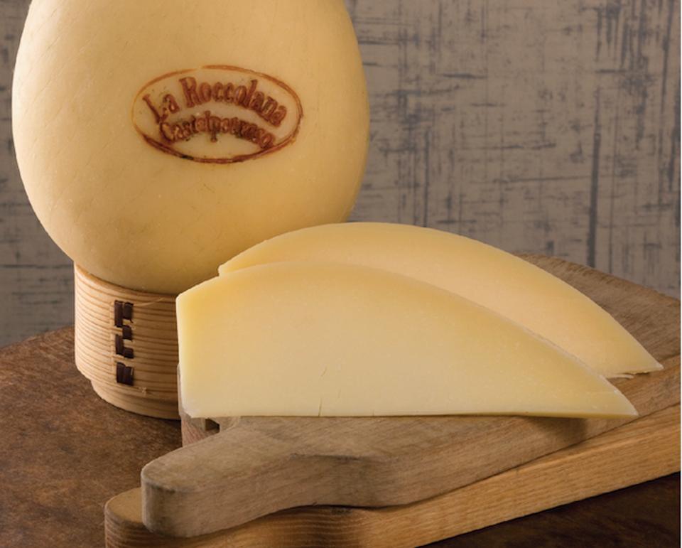Caciocavello cheese from Calabria