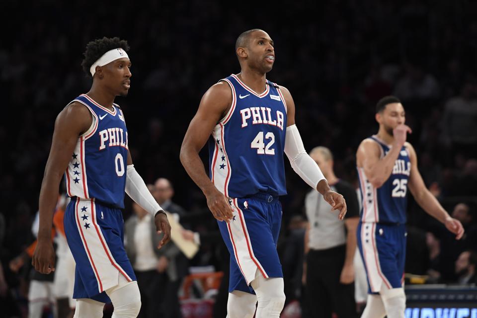 Philadelphia 76ers v New York Knicks