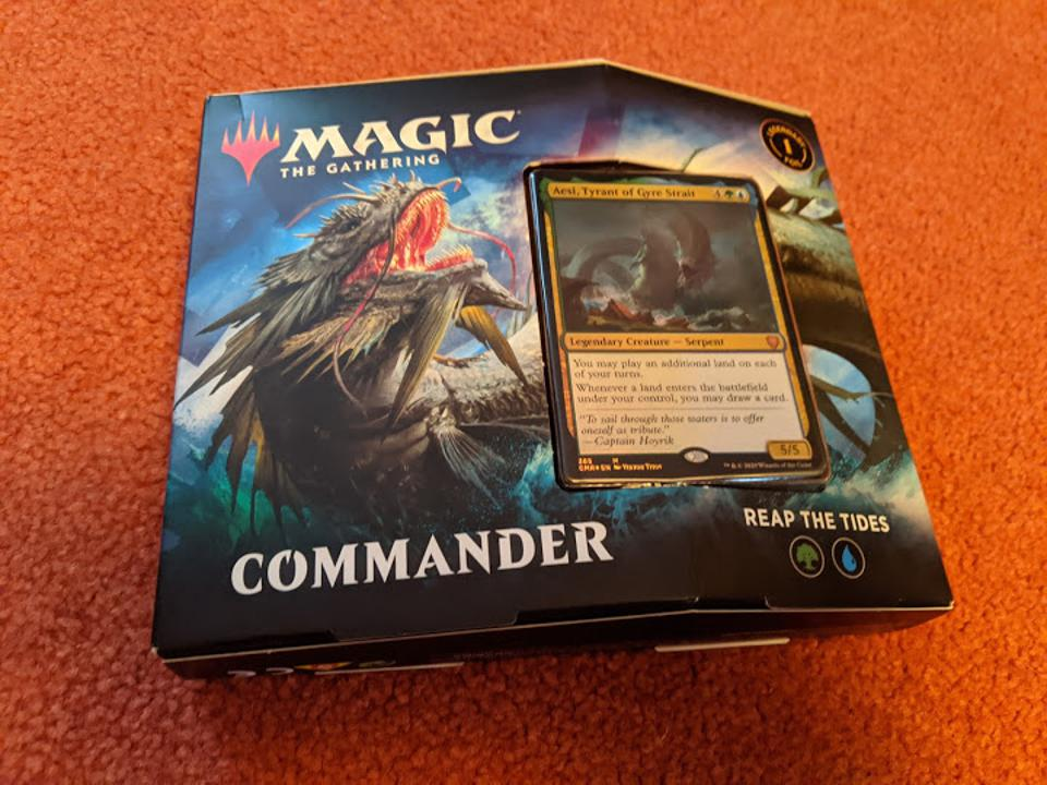Reap The Tides, Commander Legends' Simic Commander deck.