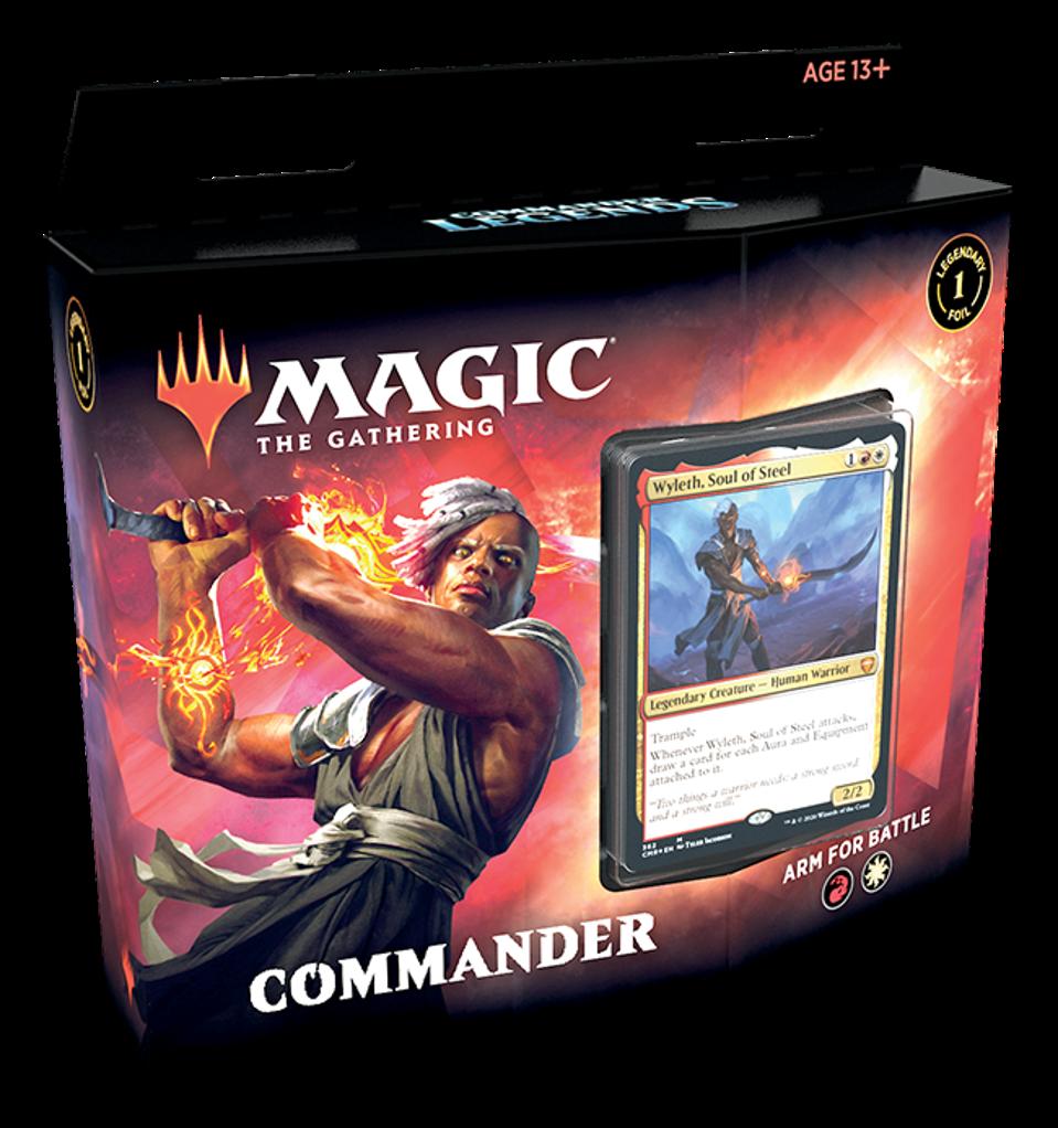Arm For Battle, Commander Legends' Boros deck.