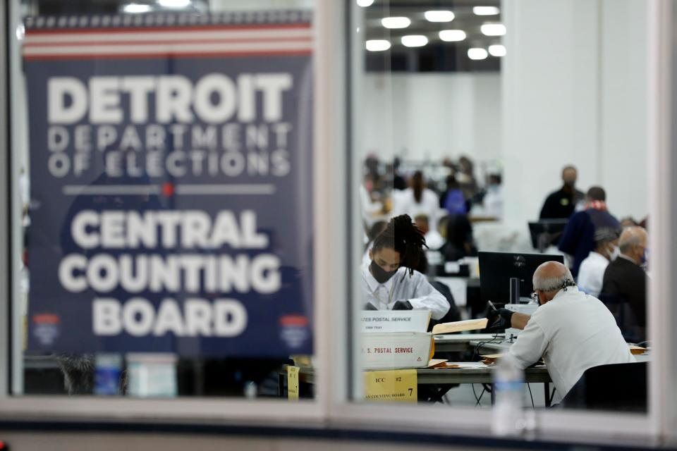 Vote counting in Detroit