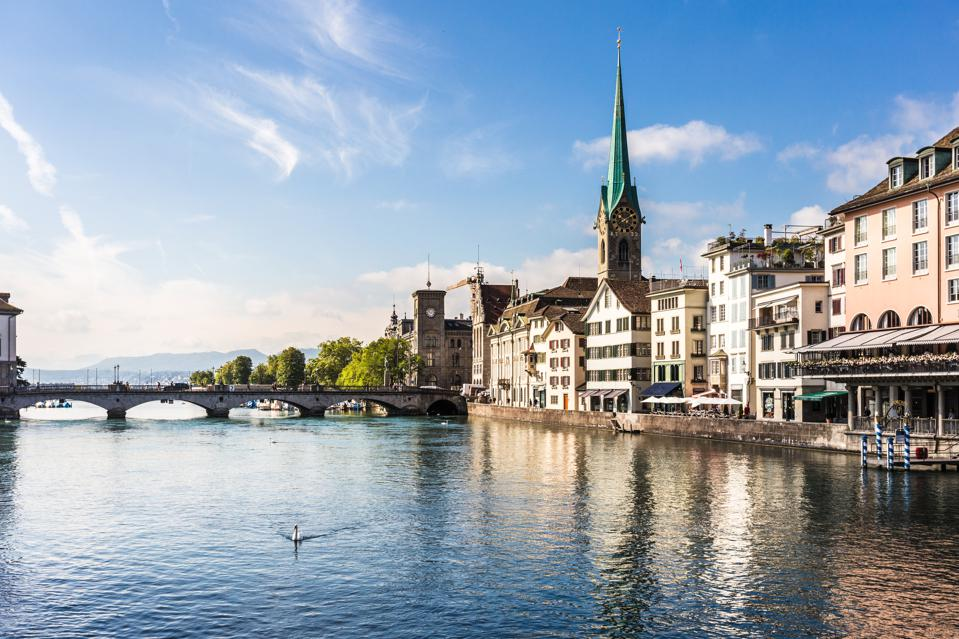 Zurich took first place with Hong Kong and Paris