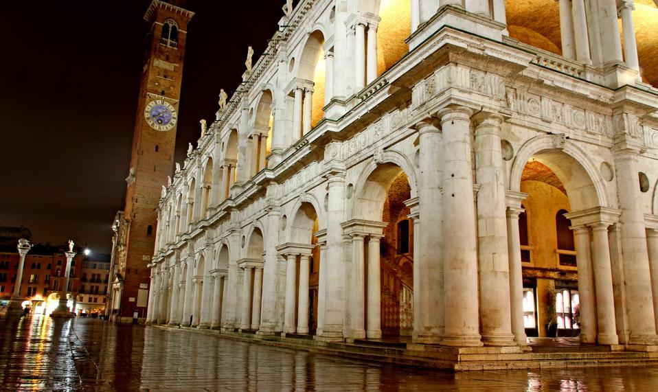 The Basilica Palladiana in Vicenza.