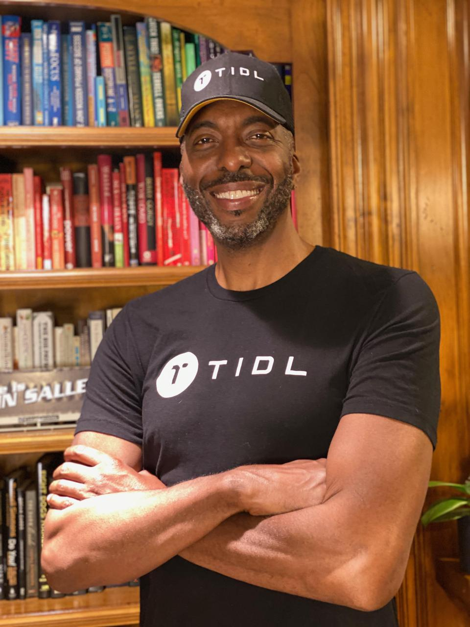 John Salley as VP of Business Development at TIDL
