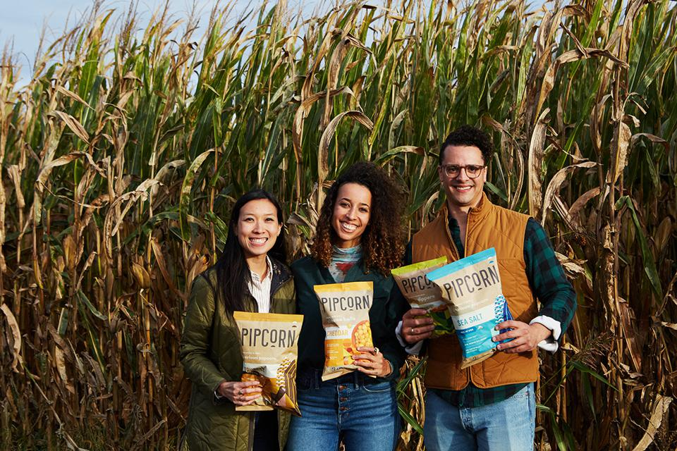 Pipcorn co-founders