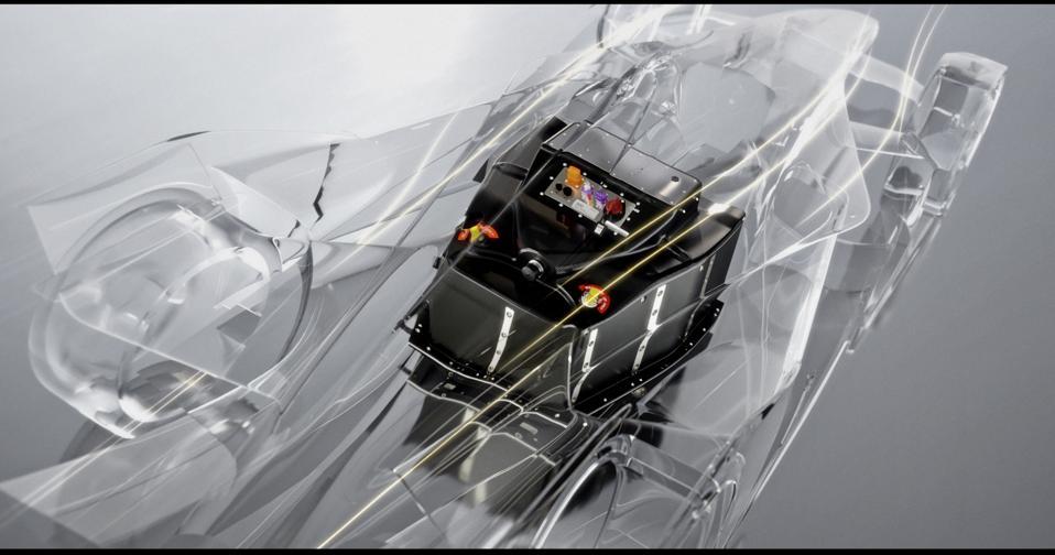 Atieva-Lucid battery pack for Formula-E.