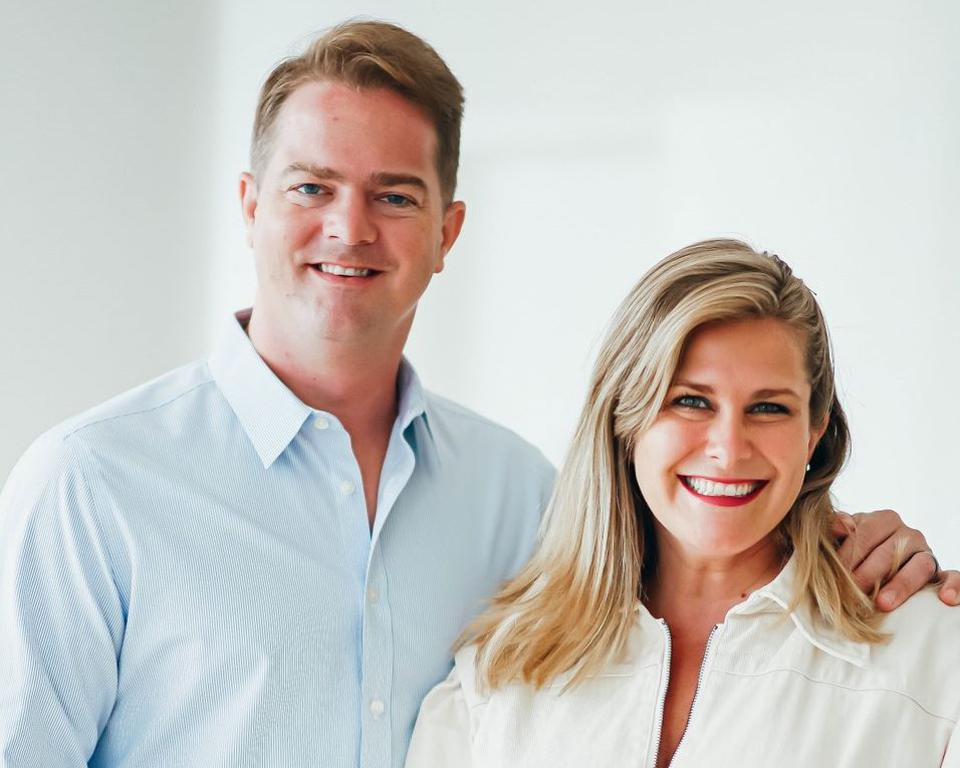 Justin and Daina Trout, co-founders of fermented tea company Health-Ade.