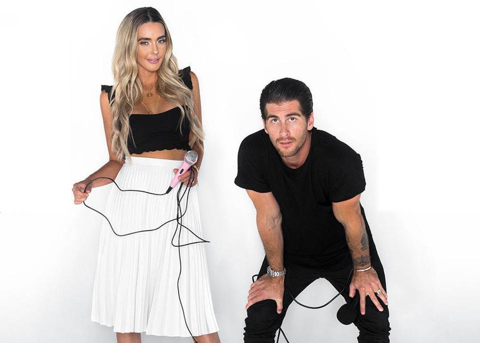 Lauryn Evarts Bosstick and Michael Bosstick, co-founders of The Skinny Confidential.