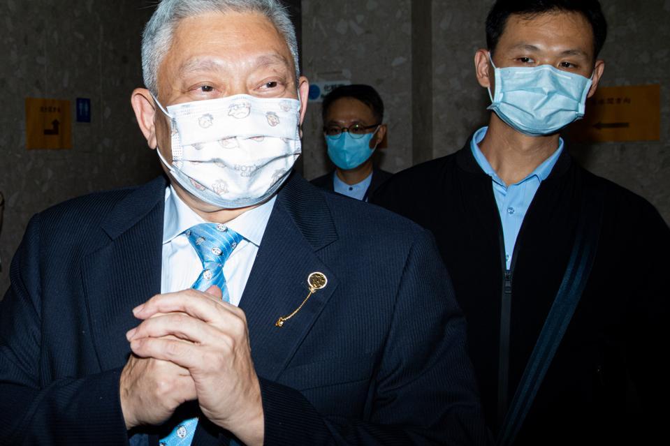 Tsai Eng-meng, the chairman of Want Want China.