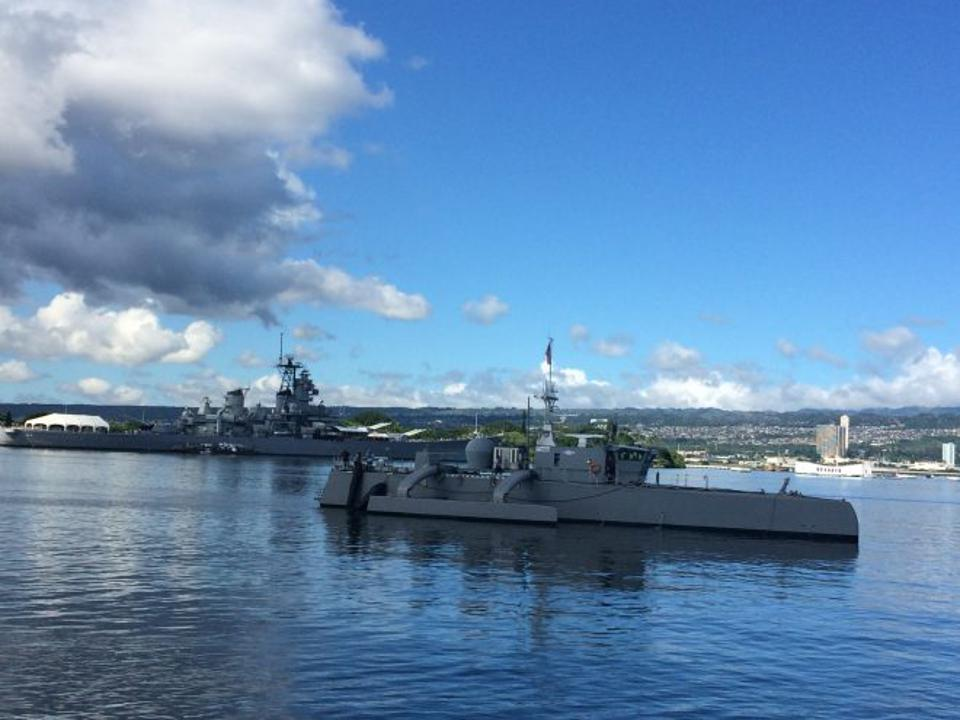 The Sea Hunter and other USVs will face the classic problem of range at sea.