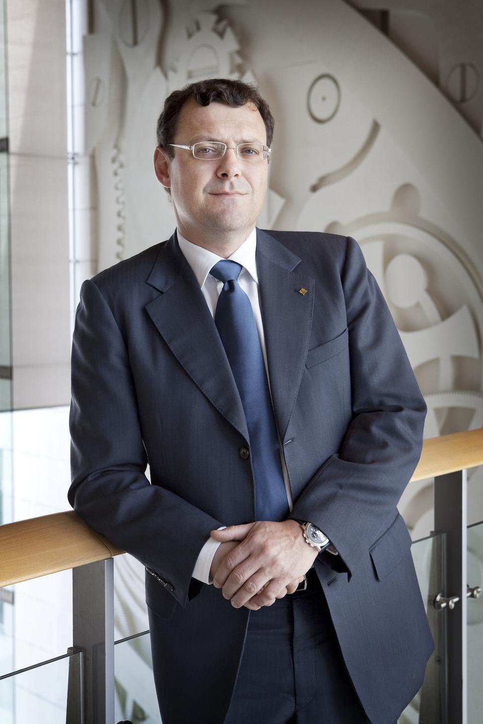 Thierry Stern, CEO of Patek Philippe
