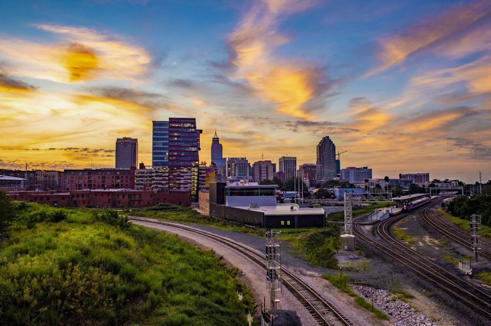 Raleigh NC Skyline