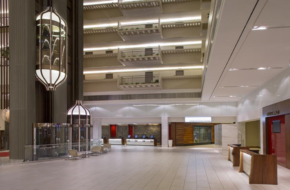 lobby of Hyatt Regency Atlanta