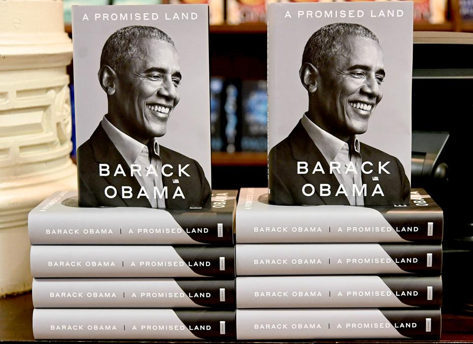 President Barack Obama's Memoir ″A Promised Land″ Goes On Sale Ahead Of Holiday Season