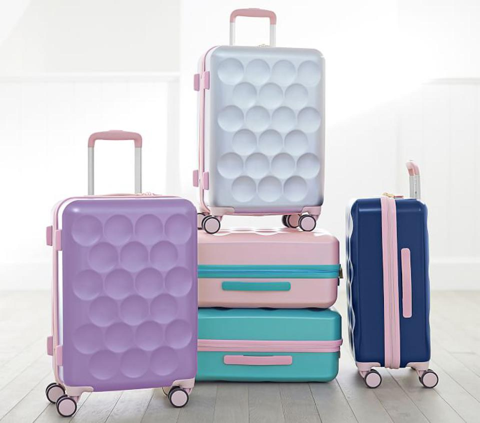 suitcases stacked