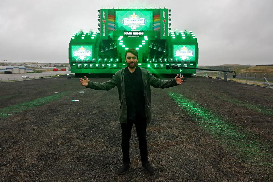 Heineken® host the official F1 2020 season opening party via a livestream with DJ Oliver Heldens from Circuit Zandvoort  the home of the postponed Heineken Dutch Grand Prix