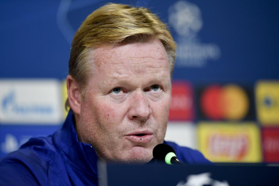 Ronald Koeman has spoken ahead of FC Barcelona's clash with Atletico Madrid.