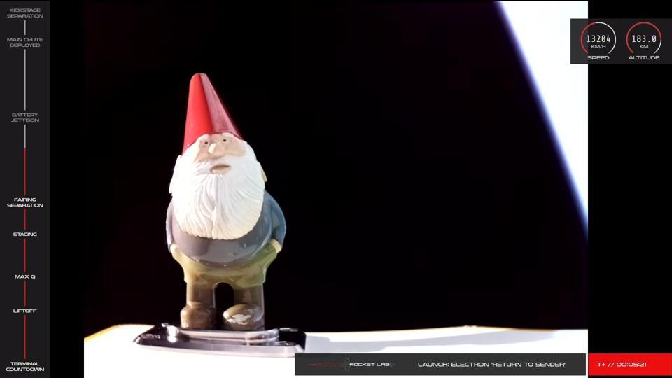 Gnome on Rocket Lab