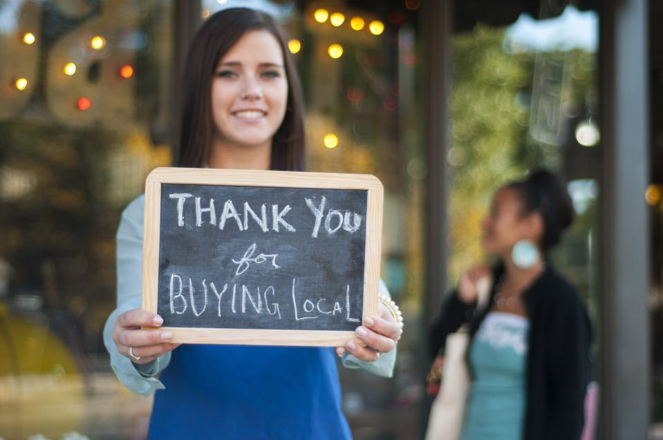 Thank you for buying local