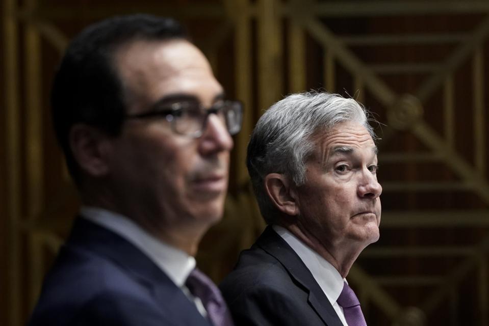 Powell And Mnuchin Testify Before Senate Banking Committee