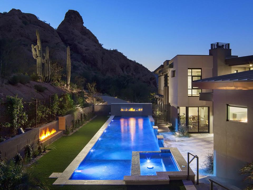 Paradise Valley, Arizona, home currently listed at $9.3 million.