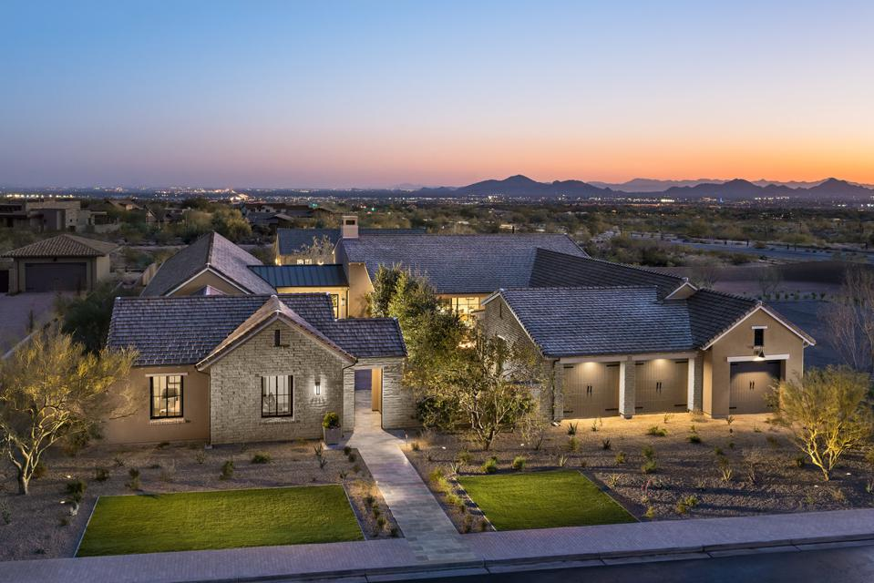 The Cheval model in the White Horse community of Scottsdale, Arizona.