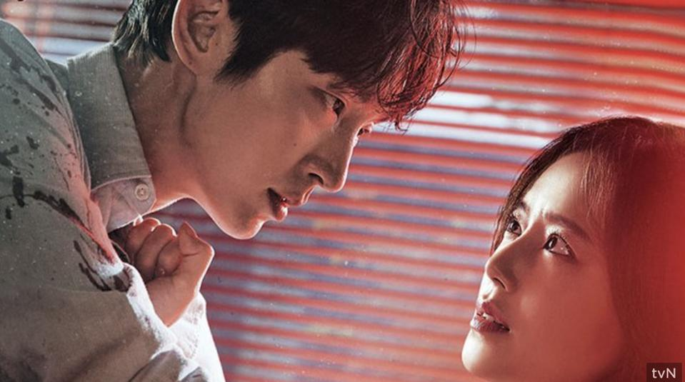Lee Jun-ki plays a suspected serial killer married to a detective, played by Moon Chae-won, in 'Flower of Evil.'