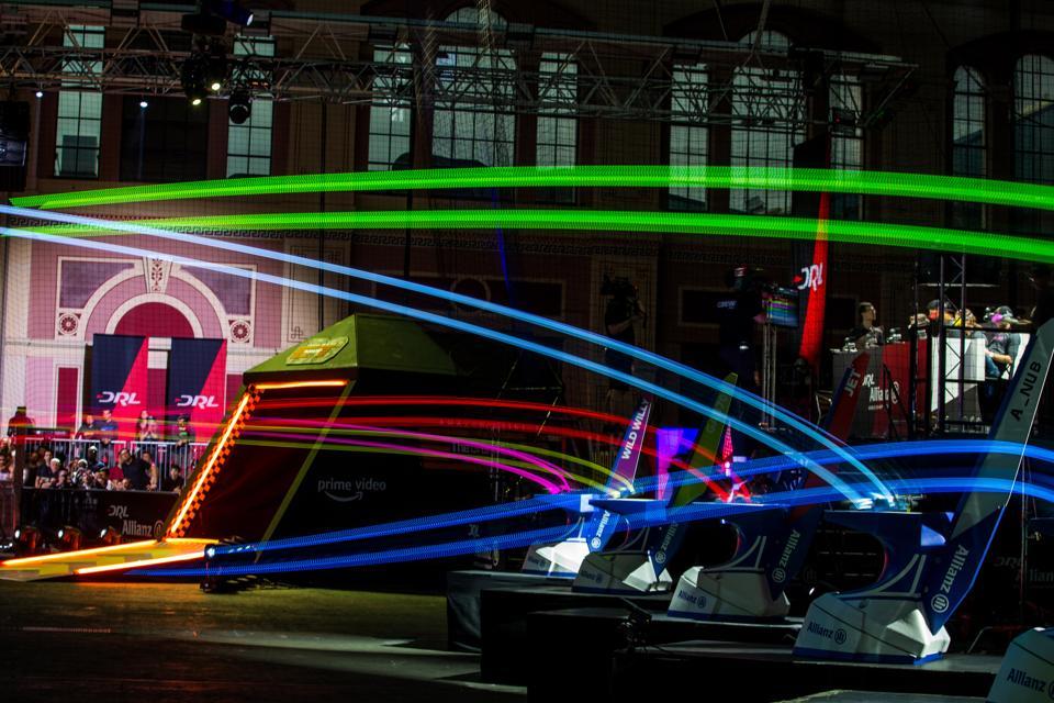 Drone Racing League - Alexandra Palace