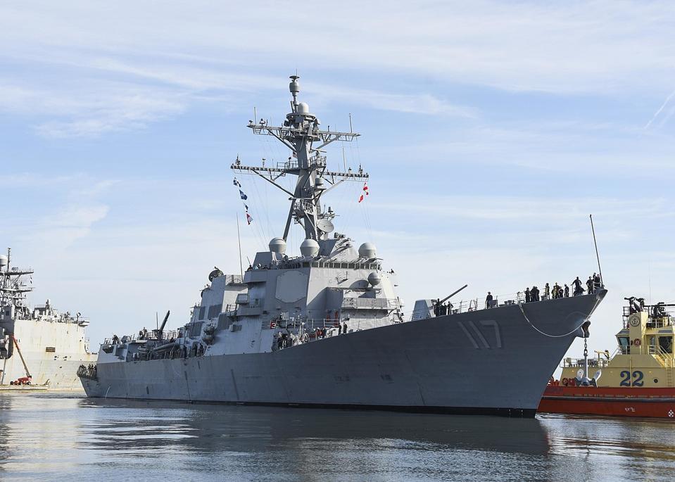 Destroyer Paul Ignatius Navy