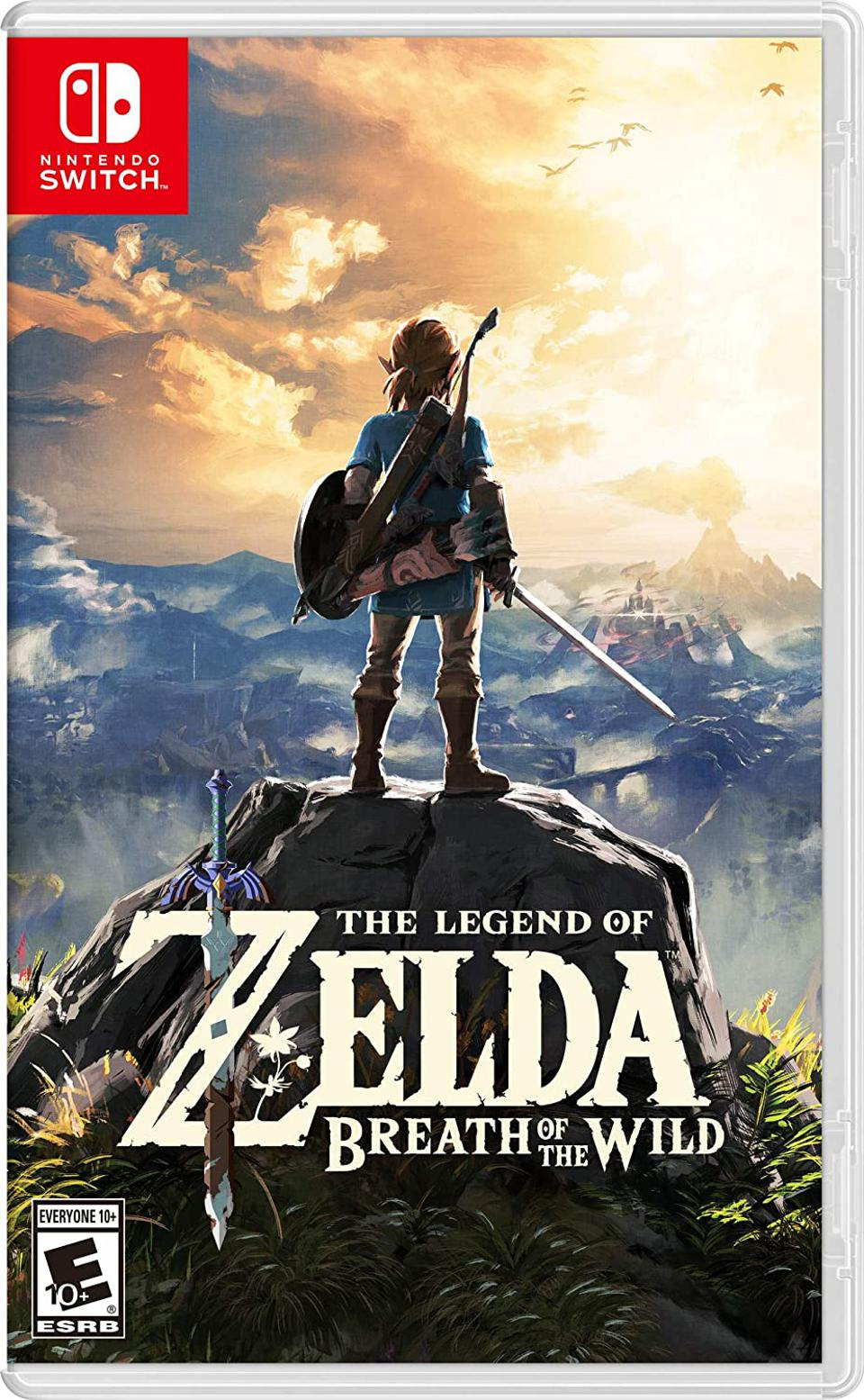 The Legend of Zelda: Breath of the Wild for Nintendo Switch Retail Packaging
