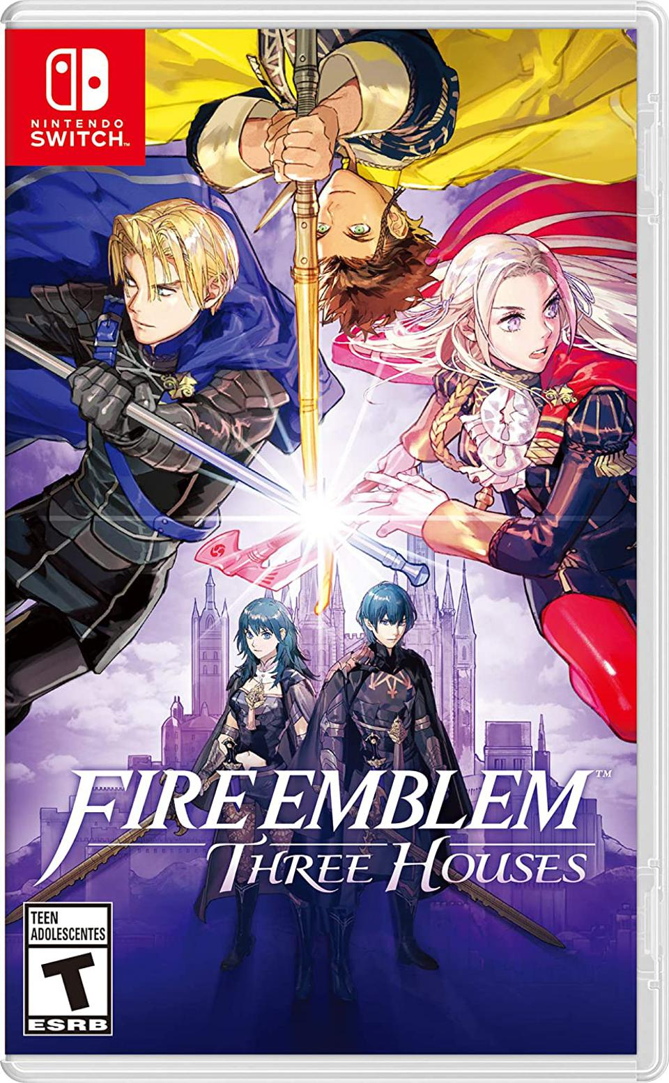 Fire Emblem: Three Houses for Nintendo Switch Retail Packaging