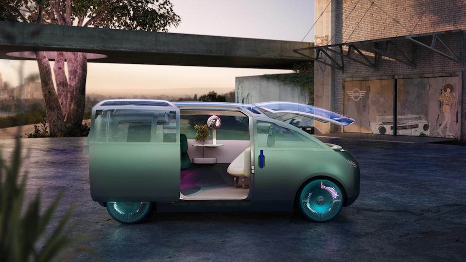 MINI's 2020 Vision Urbanaut