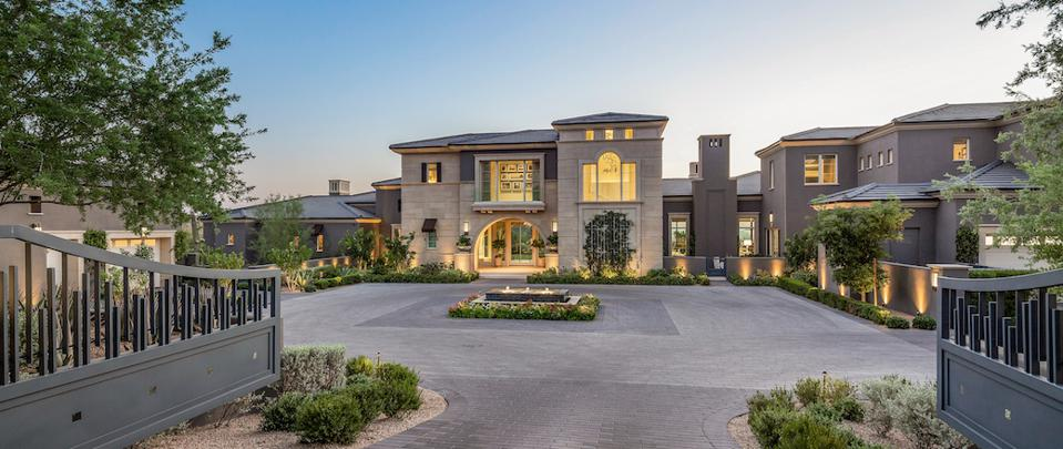 This home in the Silverleaf community of Scottsdale is Arizona's highest-priced listing.