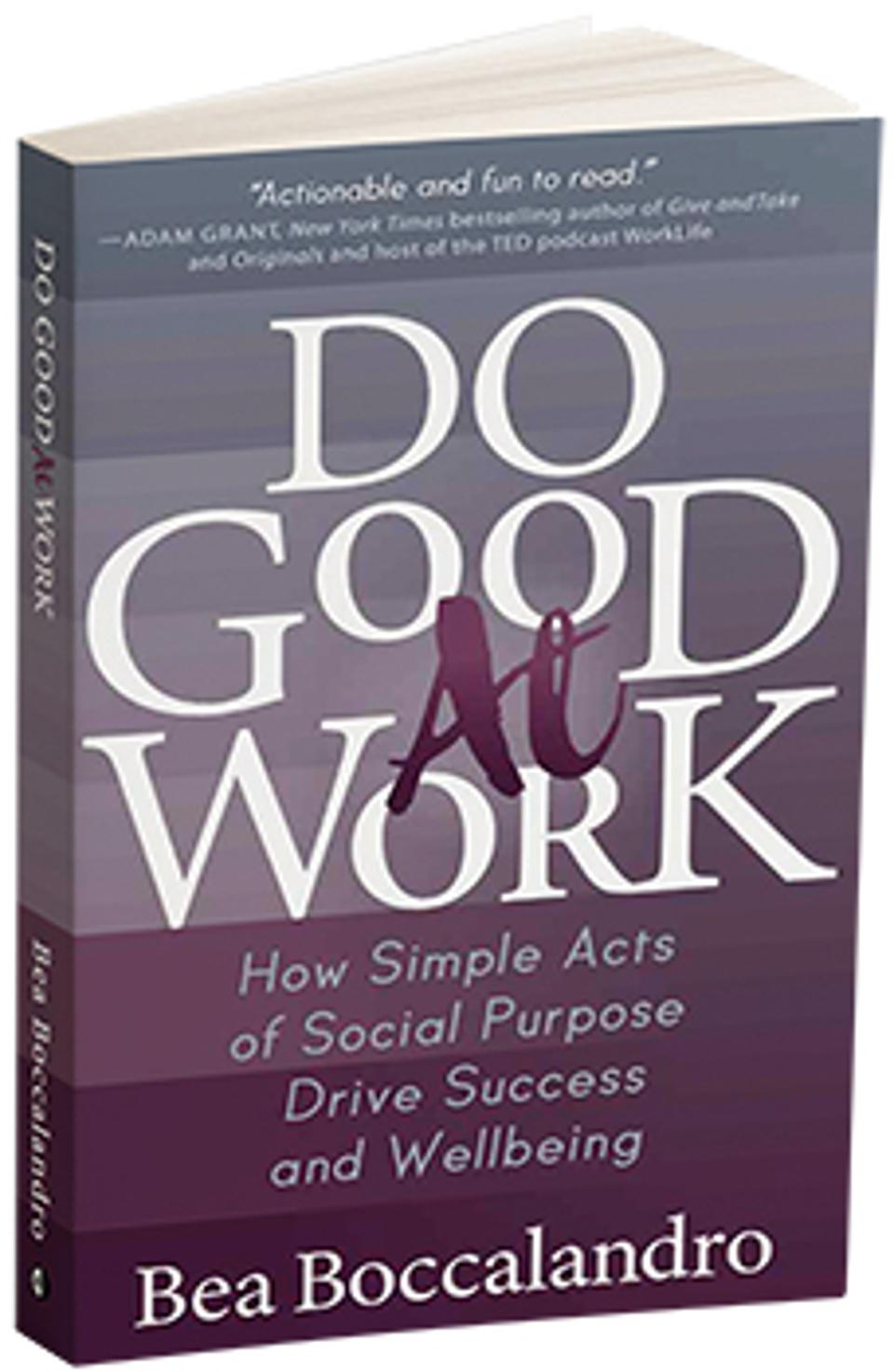 Do Good At Work Cover