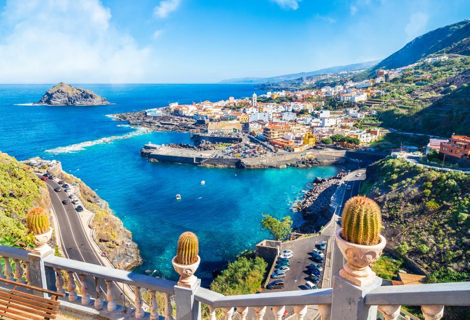 Garachico town of Tenerife, Canary Islands, Spain