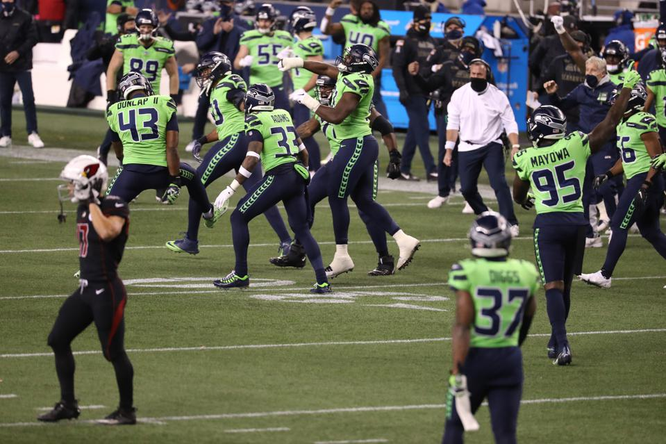 Seattle regains first place in the NFC West