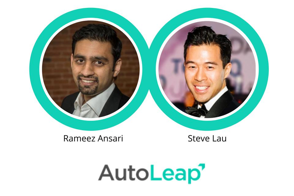 AutoLeap Co-CEOs, Rameez Ansar and Steve Lau