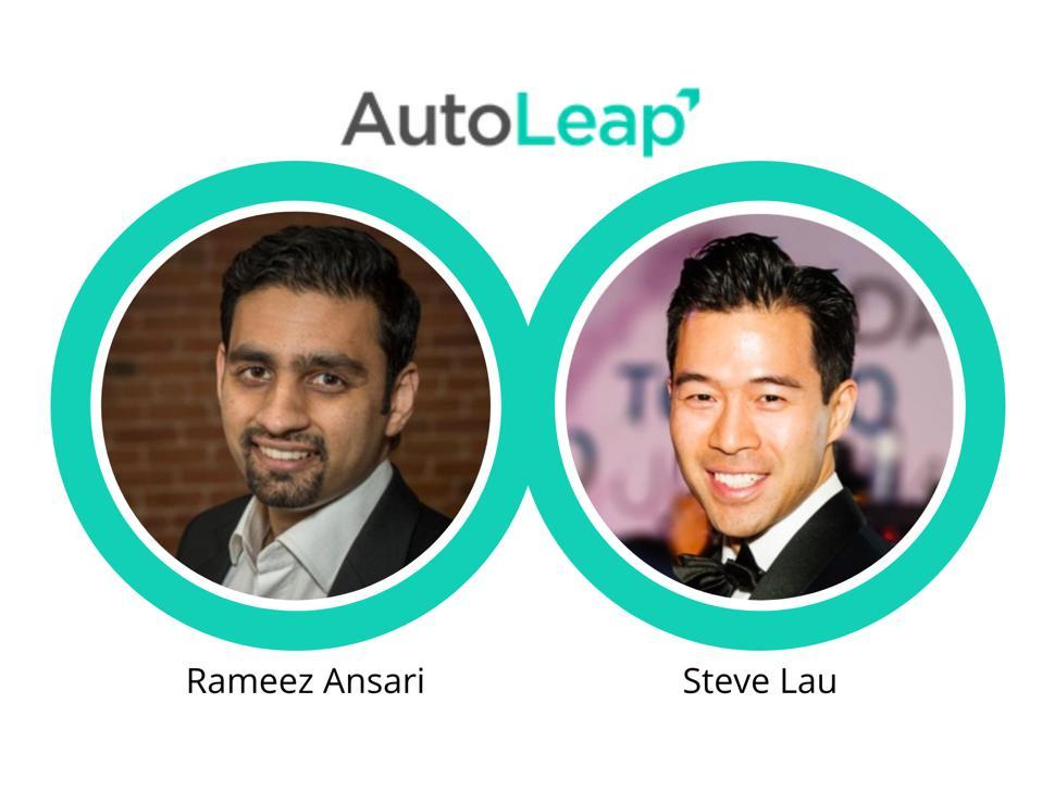 Co-CEOs Autoleap: Rameez Ansari, Steve Lau