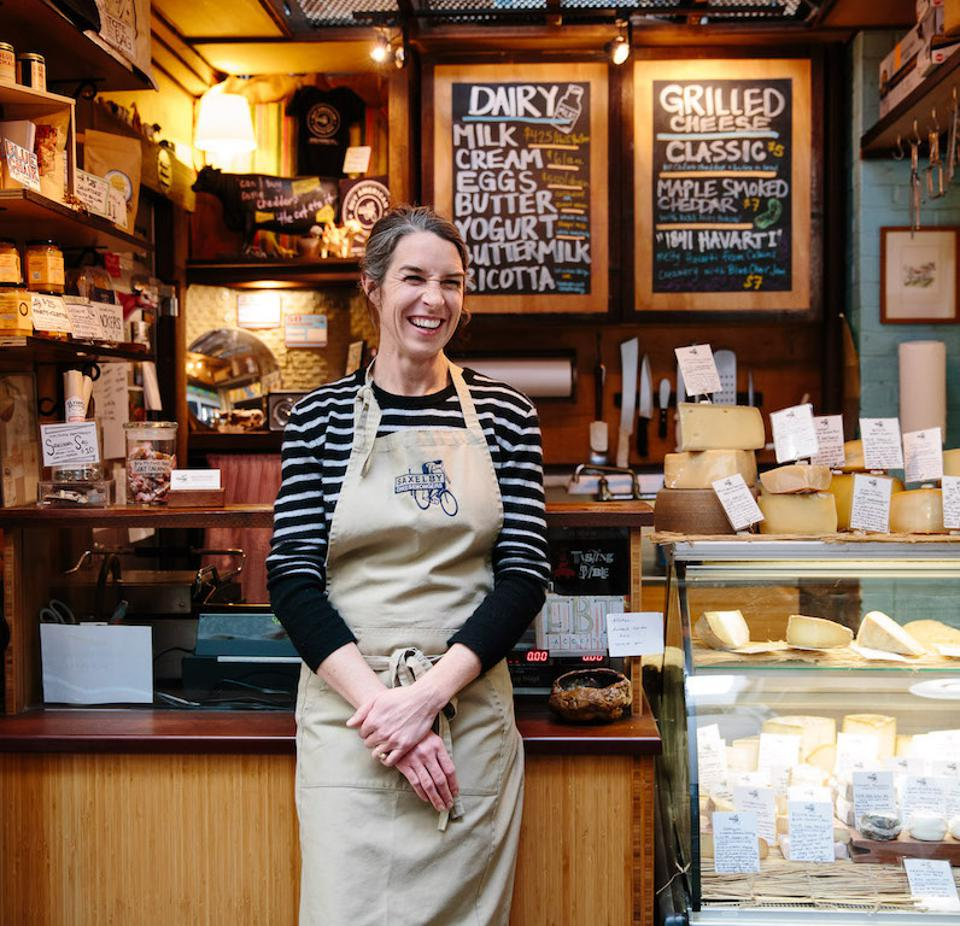 Anne Saxelby, Founder and Co-Owner of Saxelby Cheese at Chelsea Market