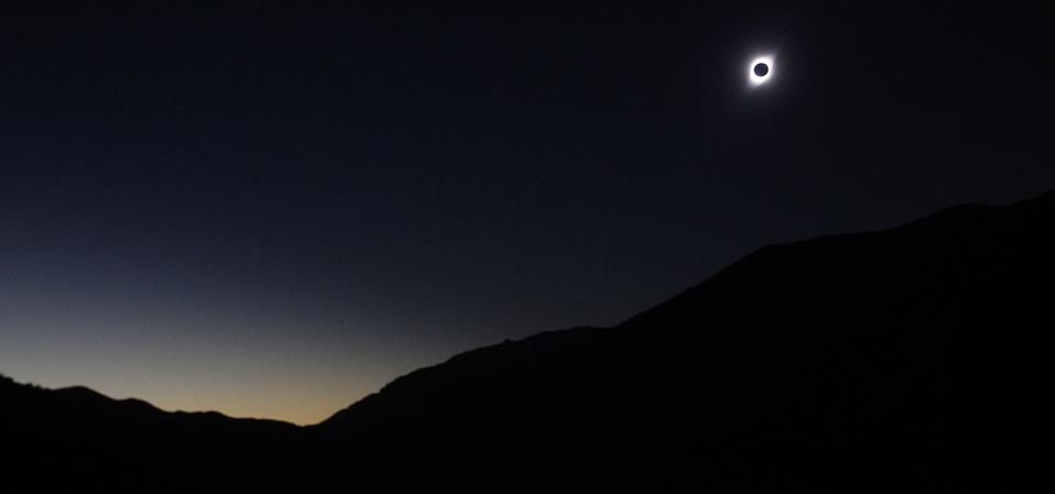 A total solar eclipse on July 2, 2019 in Paiguano, Chile.