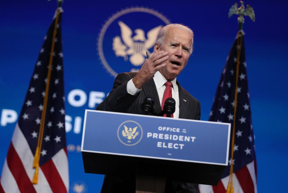 President-Elect Biden and Vice President-Elect Harris deliver remarks in Wilmington, DE