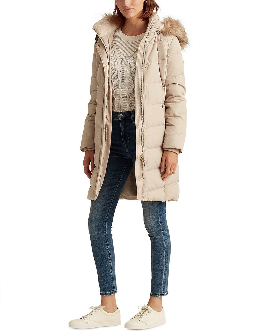 Lauren Ralph Lauren Hooded Down Coat