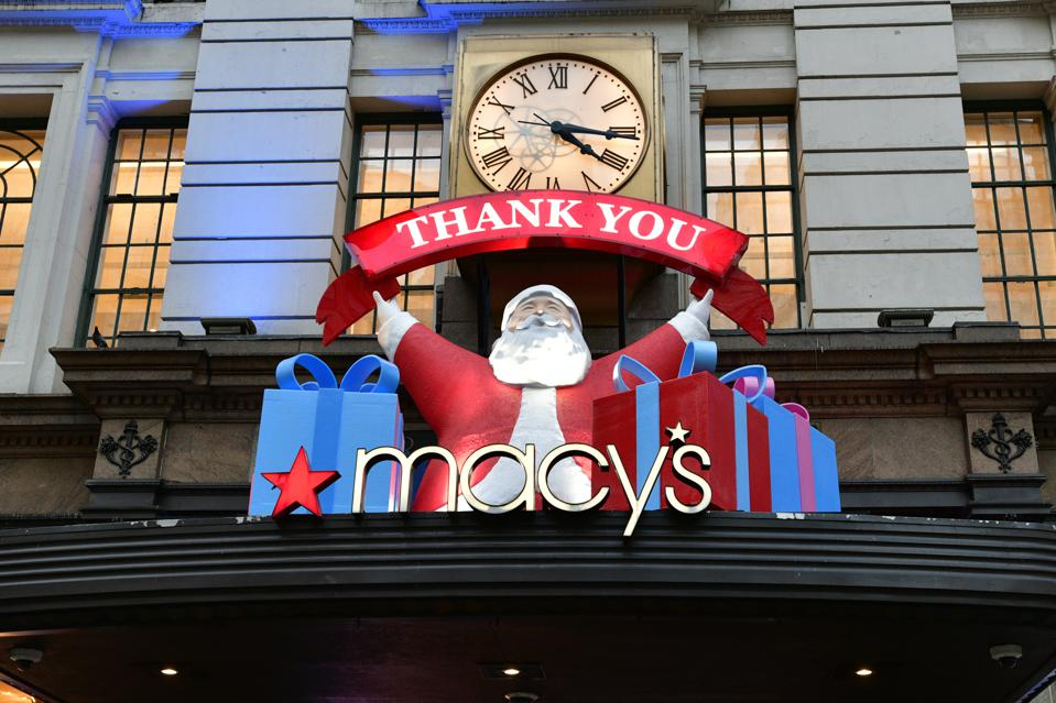 Macy's Herald Square Unveils Give, Love, Believe 2020 Holiday Windows