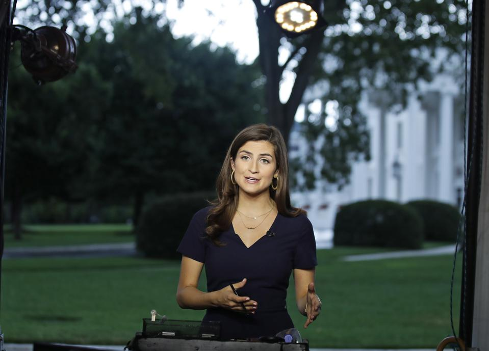 CNN's Kaitlan Collins at the White House