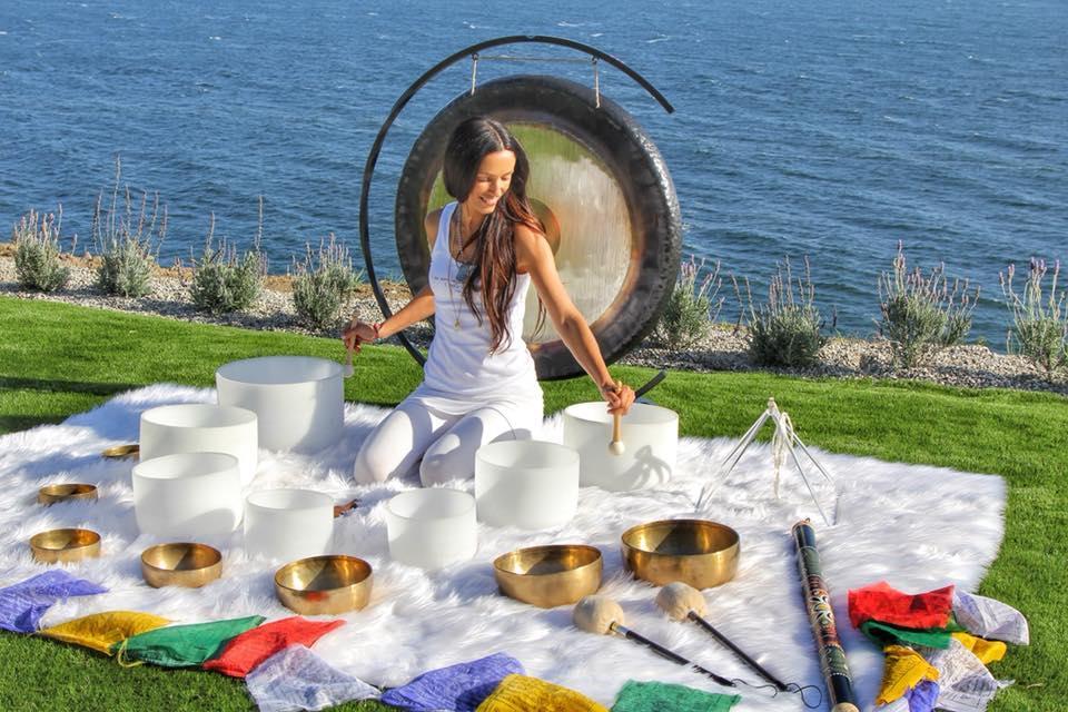 Sound Bath Healer and Wellness Pracitioner Ana Netanel