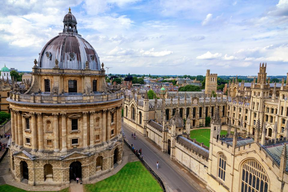 University of Oxford City in Oxfordshire England