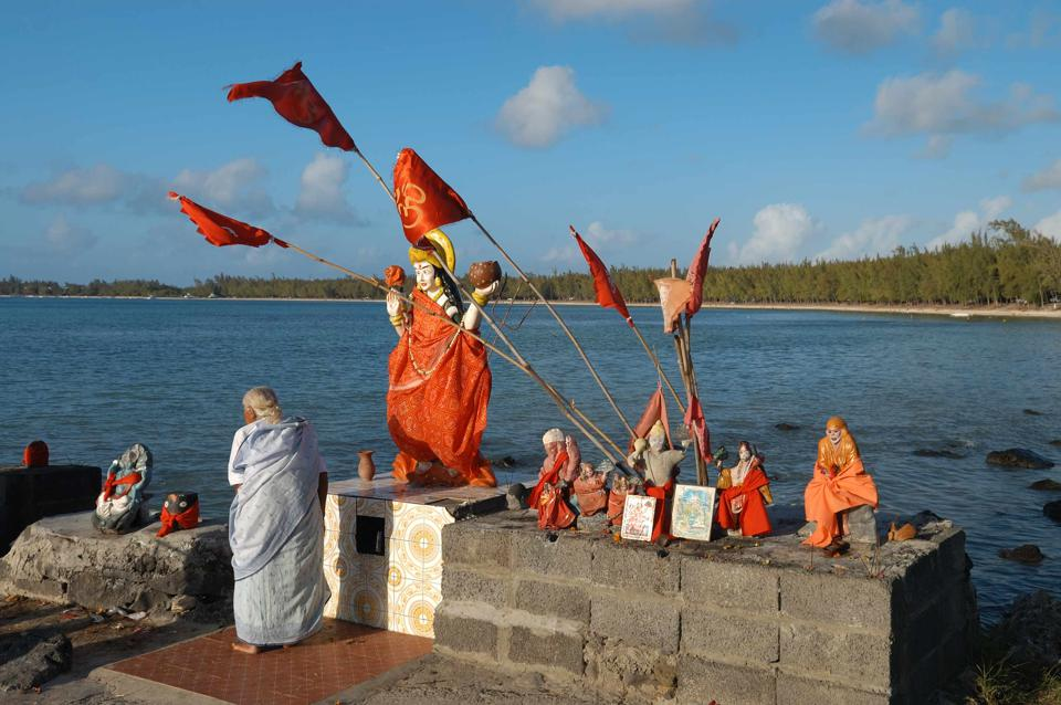 Mauritius has many religious and spiritual shrines along its coastline for various religions, that have all been impacted by the oil spill